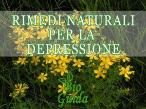 Rimedi naturali per la depressione