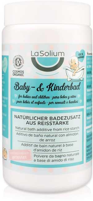 Prodotto bagnetto neonati