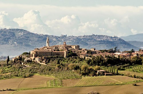 Pienza borghi medievali Toscana