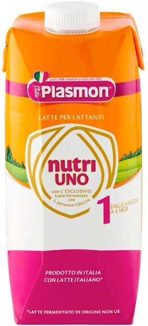 Plasmon latte liquido Nutri Uno